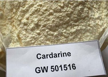 Cina CAS 317318-70-0 Fat Loss Sarms White Solid Cardarine GW501516 GSK - 516 pabrik